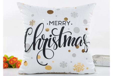 Kerst kussenhoes | Breng direct de gezellige kerstsfeer in huis!  C