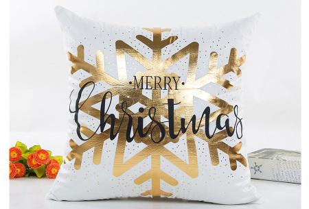 Kerst kussenhoes | Breng direct de gezellige kerstsfeer in huis!  D