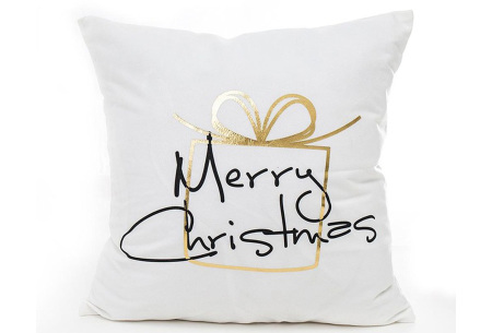 Kerst kussenhoes | Breng direct de gezellige kerstsfeer in huis!  E