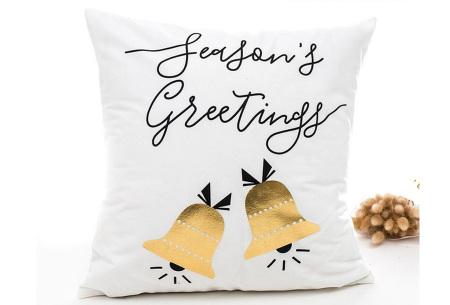 Kerst kussenhoes | Breng direct de gezellige kerstsfeer in huis!  J