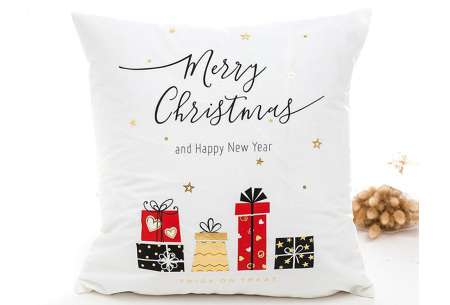 Kerst kussenhoes | Breng direct de gezellige kerstsfeer in huis!  L