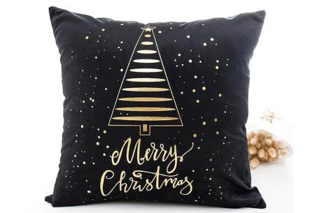 Kerst kussenhoes | Breng direct de gezellige kerstsfeer in huis!  M