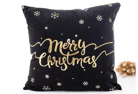 Kerst kussenhoes | Breng direct de gezellige kerstsfeer in huis!  O