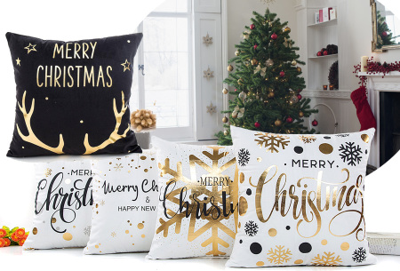 Kerst kussenhoes | Breng direct de gezellige kerstsfeer in huis!