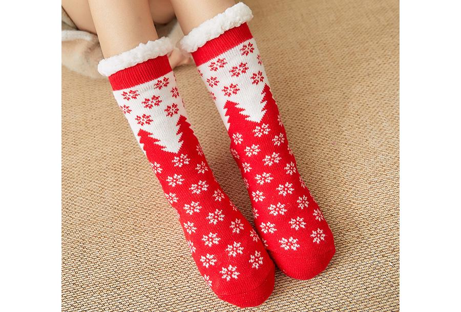 Gevoerde kerstsokken #2