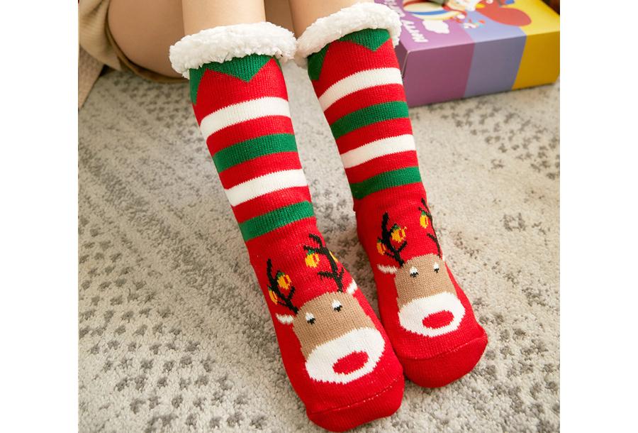 Gevoerde kerstsokken #7