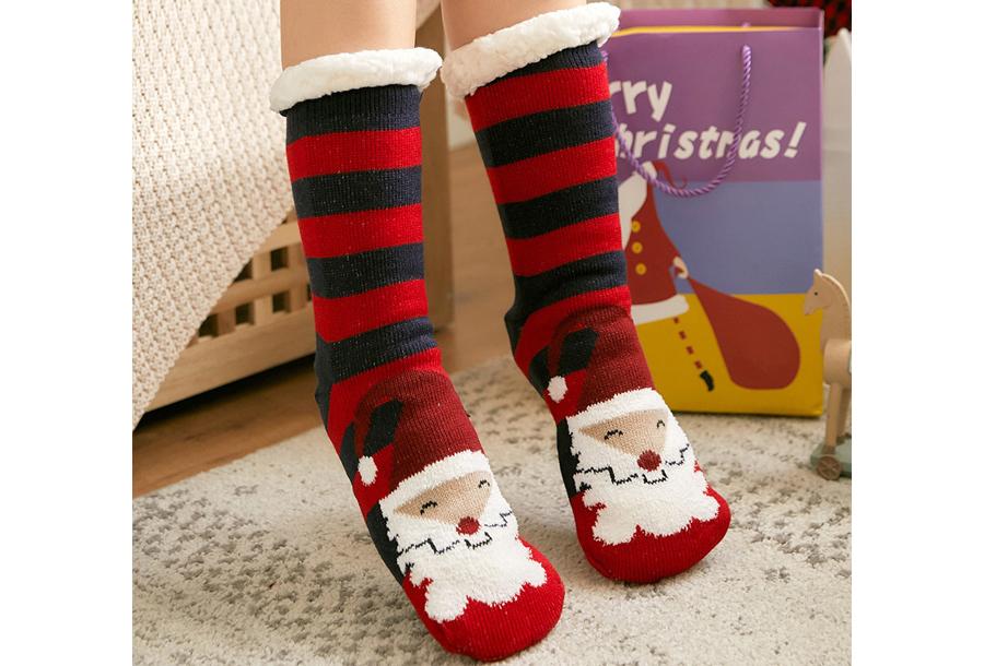 Gevoerde kerstsokken #12