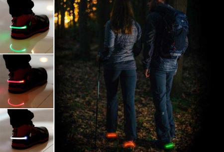 LED schoenverlichting | Ga voor extra veiligheid tijdens het hardlopen of fietsen!