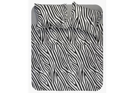 Exotische dekbedovertrekken | Droom heerlijk weg onder deze trendy overtrekken! Zebra