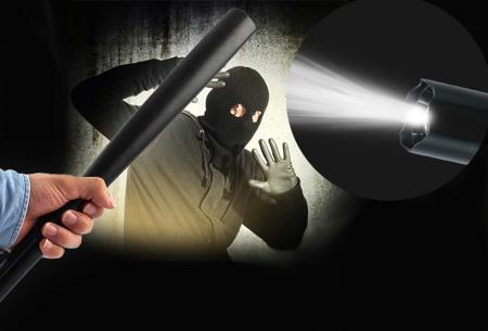 XXL militaire zaklamp | Deze unieke zaklamp biedt extra bescherming en veiligheid in het donker!