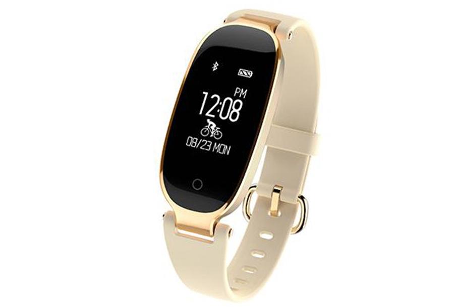 Dames smartwatch Goudkleurig