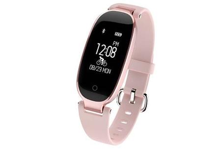 Dames smartwatch | Blijf altijd up-to-date met dit luxe horloge! Roze