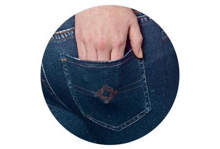 High waisted jeans legging | De look van een jeans en het comfort van een legging - nu 1+1 GRATIS!