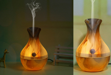 Design Aroma luchtbevochtiger | Geurverspreider en mood lamp in één