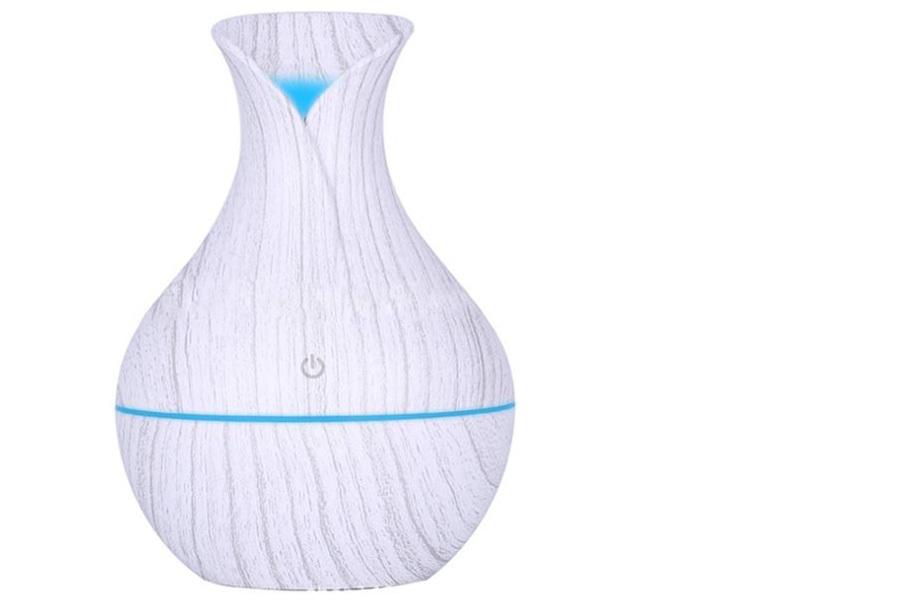 Design Aroma luchtbevochtiger #3 Wit+ 12x geurolie