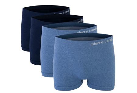 Pierre Cardin voordeelset boxershorts voor heren | Goede & comfortabele boxers voor elke man Blauw