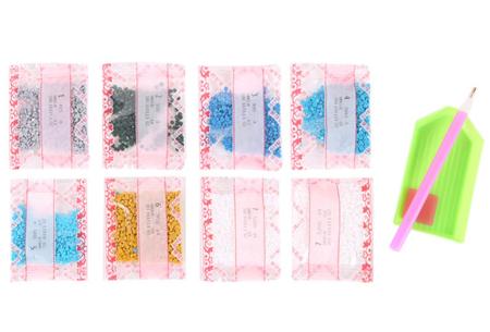 Diamond painting kinderklokken | Maak zelf de allermooiste klokken voor in de kinderkamer!