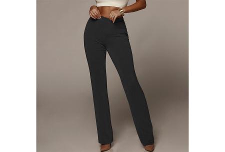 Glitter flared broek   Het perfecte kledingstuk voor de feestdagen! - Keuze uit 2 kleuren  Zwart