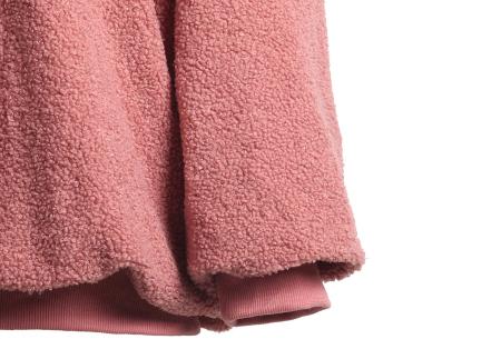 Teddy trui | Comfortabele dames sweater van zachte teddy stof