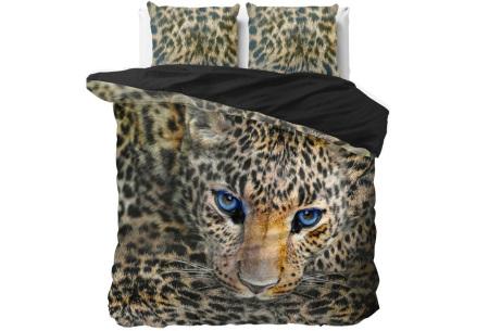 Wildlife dekbedovertrekken van Dreamhouse | Droom weg onder kwaliteit! cheetah - taupe