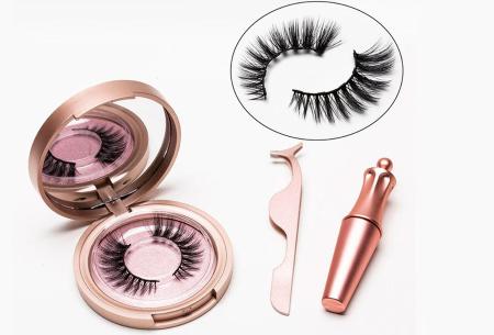 Magnetische nepwimpers met eyeliner | Creëer een verleidelijke oogopslag binnen enkele minuten! Doha