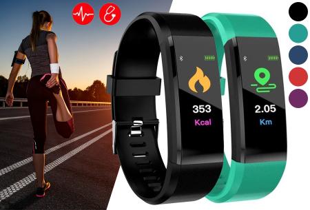 Bluetooth Activity tracker met o.a. bloeddruk- en hartslagmeter | Meet beweging & slaap