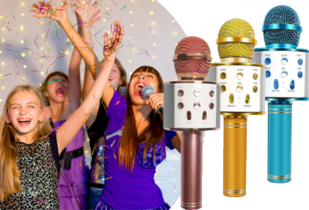 79% korting - Karaoke microfoon