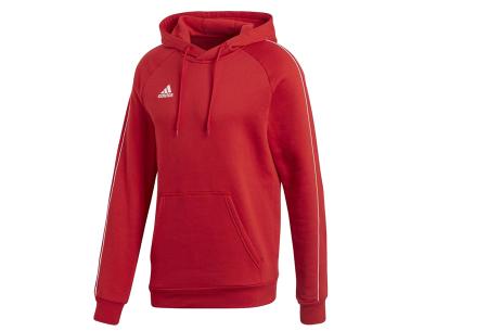 Adidas sweater of hoodie voor heren | Tijdloos kledingstuk voor iedere man! Rood