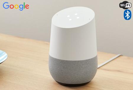 Google Home Smart Speaker | Deze slimme speaker beantwoordt al jouw vragen!