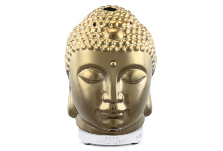 Sfeervolle luchtbevochtigers | Voor een rustgevende omgeving Boeddha - goudkleurig