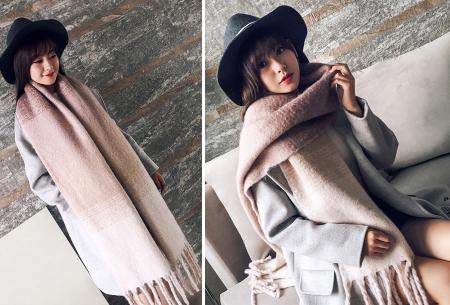 Fluffy sjaal | Heerlijk warme en lange overslagsjaal #2