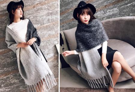 Fluffy sjaal | Heerlijk warme en lange overslagsjaal #1