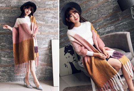 Fluffy sjaal | Heerlijk warme en lange overslagsjaal #4