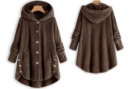 Fleece vest voor dames met capuchon | Heerlijk warm en comfortabel kledingstuk tijdens de koude dagen Bruin