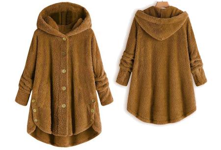 Fleece vest voor dames met capuchon | Heerlijk warm en comfortabel kledingstuk tijdens de koude dagen camel