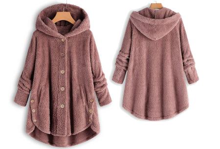 Fleece vest voor dames met capuchon | Heerlijk warm en comfortabel kledingstuk tijdens de koude dagen Roze