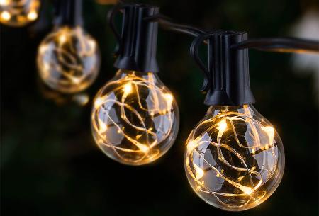 FlinQ LED lichtslinger | Sfeervolle verlichting voor binnen en buiten!