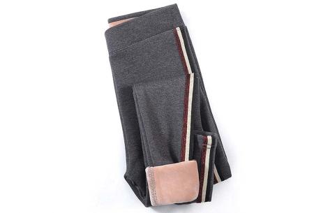 Gevoerde fleece legging | De perfecte broek voor in de winter!  Grijs #3