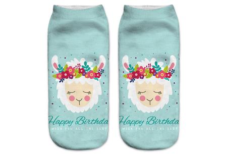 Alpaca sokken   Super originele sneakersokken - cadeautip! #7