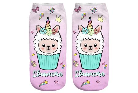 Alpaca sokken   Super originele sneakersokken - cadeautip! #12
