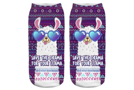 Alpaca sokken   Super originele sneakersokken - cadeautip! #13
