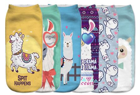 Alpaca sokken   Super originele sneakersokken - cadeautip!