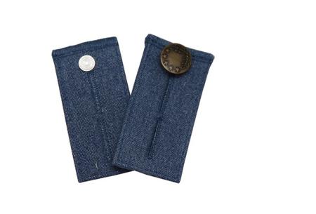 Jeans verlengstuk | Maakt jouw spijkerbroeken circa 8 cm wijder! Blauw