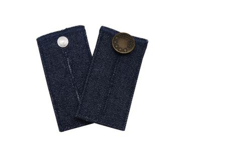 Jeans verlengstuk | Maakt jouw spijkerbroeken circa 8 cm wijder! Donkerblauw