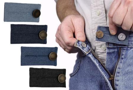 Jeans verlengstuk | Maakt jouw spijkerbroeken circa 8 cm wijder!