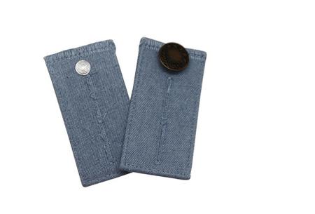 Jeans verlengstuk | Maakt jouw spijkerbroeken circa 8 cm wijder! Lichtblauw