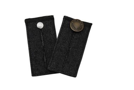 Jeans verlengstuk | Maakt jouw spijkerbroeken circa 8 cm wijder! Zwart