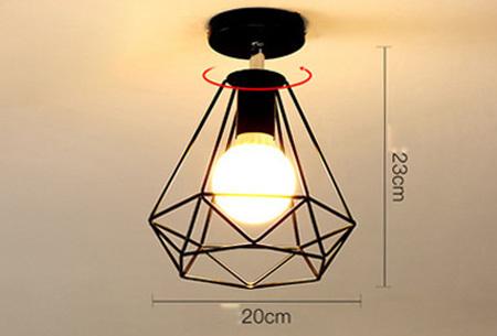 Industri�le hanglampen #2+ gratis lichron/bulb