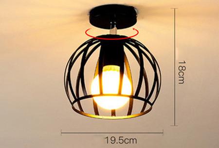 Industriële hanglampen | Voor een moderne look in iedere kamer - met gratis lichtbron! #5