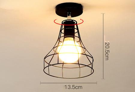 Industriële hanglampen | Voor een moderne look in iedere kamer - met gratis lichtbron! #7